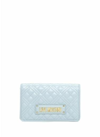 Love Moschino Messenger / Askılı Çanta Mavi